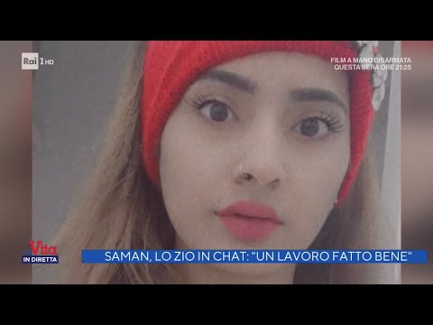 Saman, il racconto sconvolgente del fratello - La vita in diretta 07/06/2021