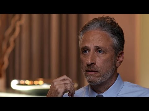 """Jon Stewart on the """"gift"""" of """"The Daily Show"""""""
