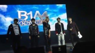 B1A4 Adventure 2016 en Chile | Concierto Completo | Zona Platinum (160214)