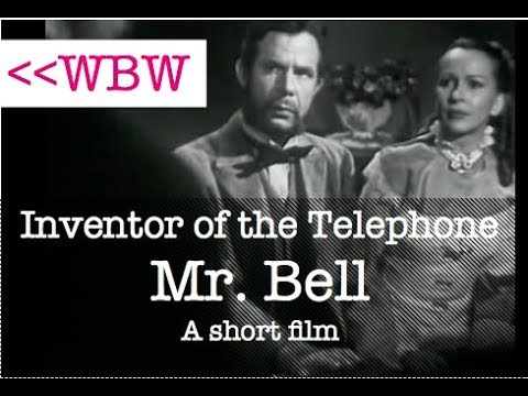 Inventor of the Telephone Works with Deaf Pupils - 1947