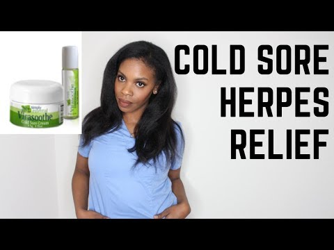 Get Rid Of Cold Sores & Herpes Symptoms FAST- Virasoothe