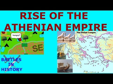 the rise of athens in the delian league