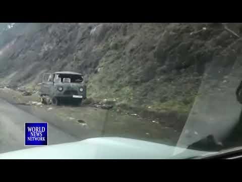Reuters с Российской колонной засняли кадры Тяжолого Разгрома Армянской армии в Карабахе