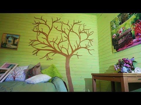 Дерево из фанеры своими руками на стену