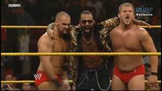 NXT 12/06/2013 - Dawson & Dylan (w/Sylvester Lefort) vs. Corbin & Tayler