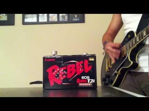 Custom Cordless Mini Guitar Amplifier
