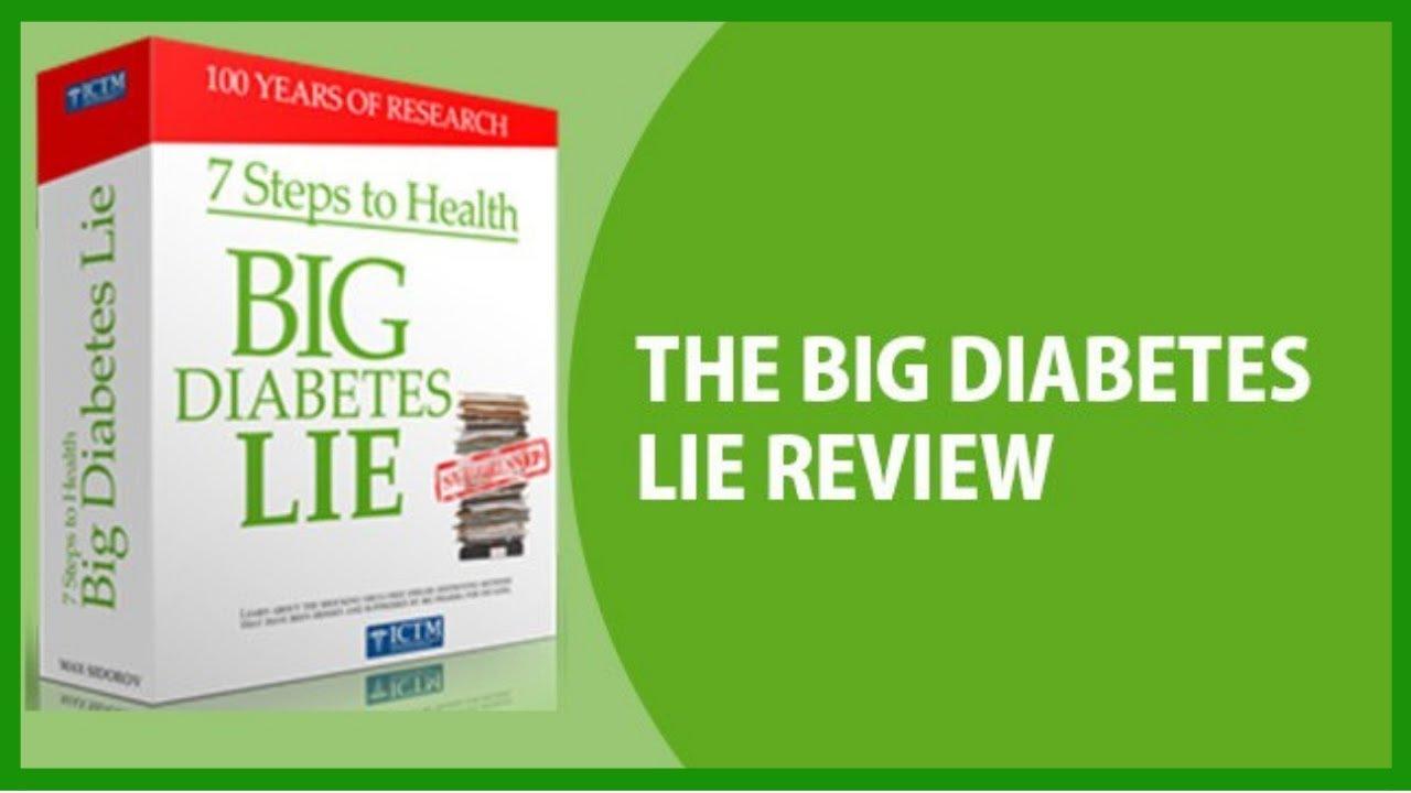 Big diabetes lie