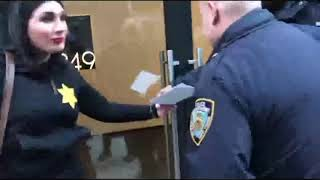 Laura Loomer Handcuffs Herself To Twitter HQ To Protest Online Censorship