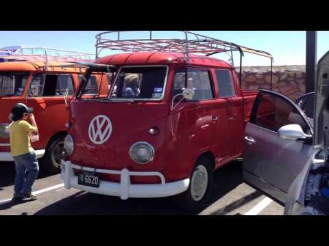 A Trio of Volkswagen Double Cab Bus, Transporter, Pick Up