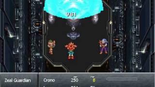 Chrono Trigger RMXP - Boss Battle Test + Menu Overview - Zeal Guardian