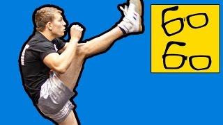 видео тренировки по кикбоксингу