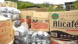 Junk Food in village, Borneo