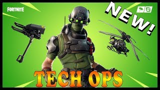 "NEW ""TECH OPS GEAR"" SKIN in FORTNITE - ICE STORM CHALLENGES! // Playing With SUBSCRIBERS"