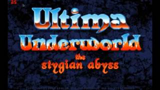 Ultima Underworld MT-32 OST - Ambient (Menu)