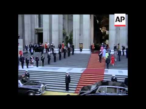 THE ROYAL WEDDING - PRINCE CHARLES AND LADY DIANA SPENCER - NO SOUND - COLOUR