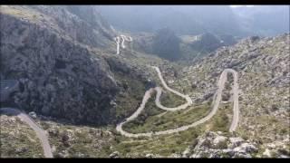 Sa Calobra Mallorca (Coll des Reis) en 4K desde Drone Phantom 4