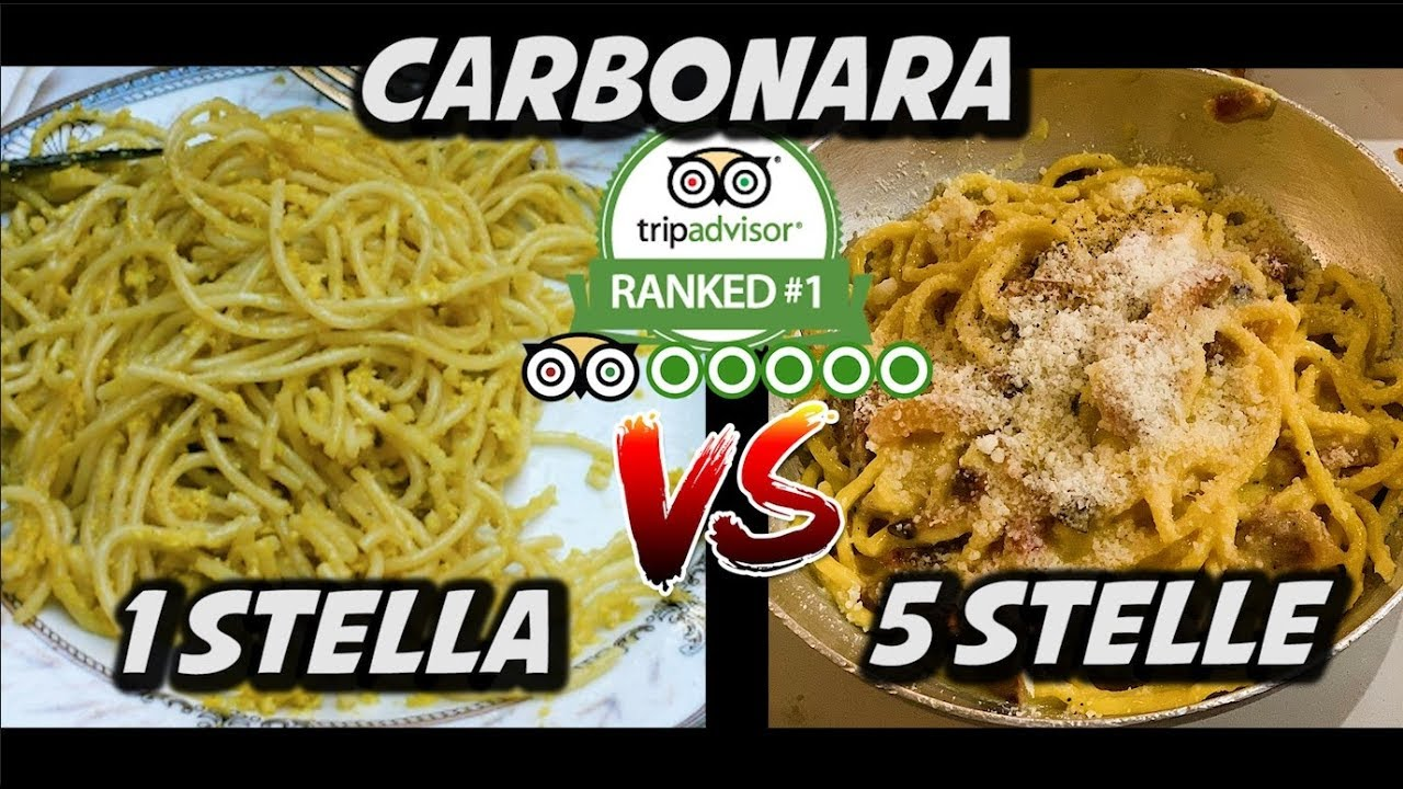 Download MIGLIOR CARBONARA VS PEGGIOR CARBONARA DI ROMA