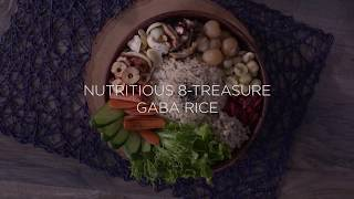 CUCKOO GABA Rice Recipes - 8-Treasure Rice GABA Rice