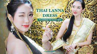타이 전통 드레스를 입은 한국인을 본 태국 사진기사의 …