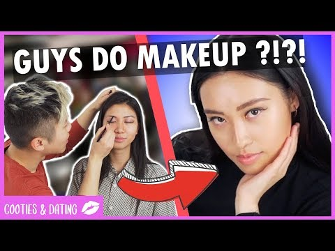 INSTAGRAM BADDIE MAKEUP DONE BY GUYS WITH NO MAKEUP EXPERIENCE