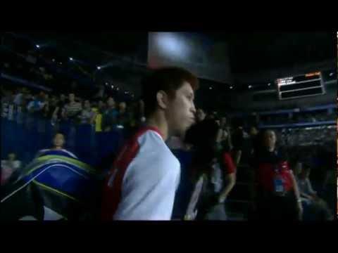 Semi Finals - China (Chen L.) vs Korea (K.Tago) - Thomas Cup 2012