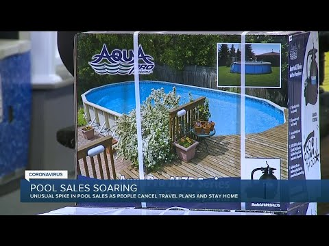 Pool sales soaring in metro Detroit