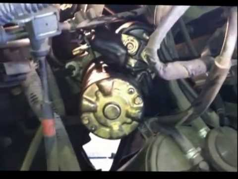 Watch on 2007 nissan murano starter location