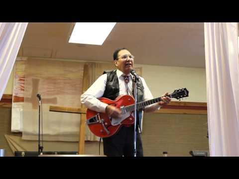 Hiram Upham 72nd Birthday - Hiram singing