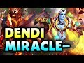 DENDI vs MIRACLE - QOP vs SF - SEA DIVINE PUB DOTA 2