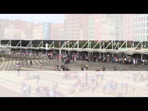 Gijón: Sidra entre espuma