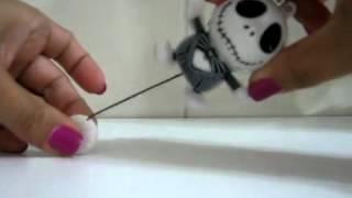 Кошмар перед Різдвом струшування ляльки руки бр