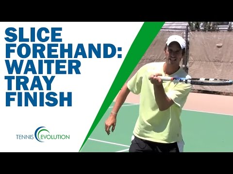 SLICE FOREHAND | How To Hit The *Slice Forehand*
