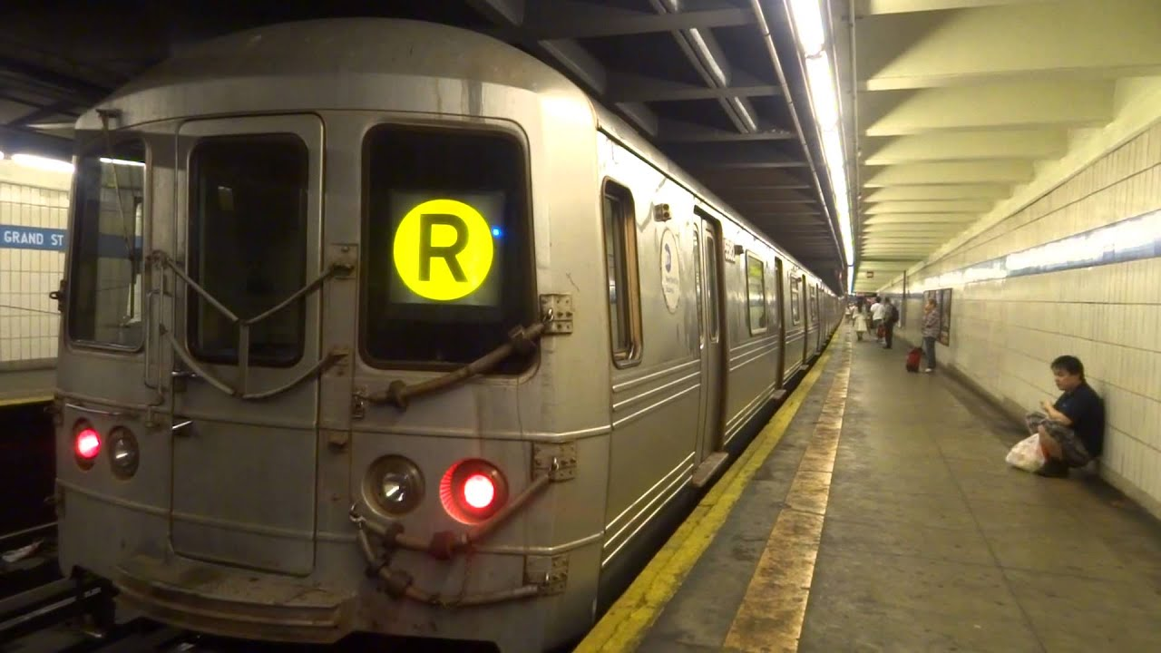 nyc subway special forest hills bound r46 r entering. Black Bedroom Furniture Sets. Home Design Ideas