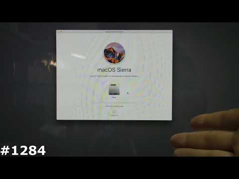 Установка MacOS на IMac после замены жесткого диска, Установка MacOS на флешку