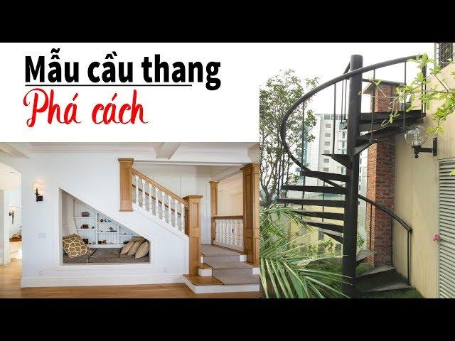 25 + mẫu cầu thang phá cách dành cho không gian hiện đại | Cầu thang VIP