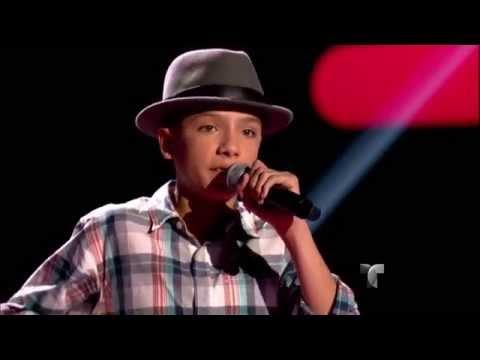"""Alexander canta """"Cara de niño"""" en """"La Voz Kids"""""""