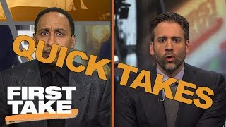 Quick Takes On Odell Beckham Jr.'s Nike Deal And Gronk's New Contract | First Take | May 24, 2017