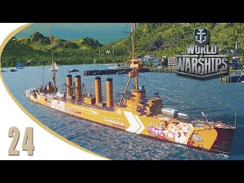 [LETS PLAY] World of Warships #24  Karlsruhe & Omaha