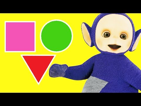 Teletubbies: Learn Shapes with Teletubbies | Toy Play Video