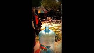 Mineral water bottle refilling technique... Whirlpool