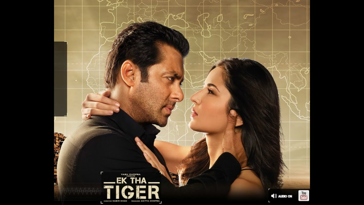 Salman Khan And Katrina Kaif In Ek Tha Tiger: Salman Khan Ek Tha Tiger Movie Romatic Scene Hot Katrina