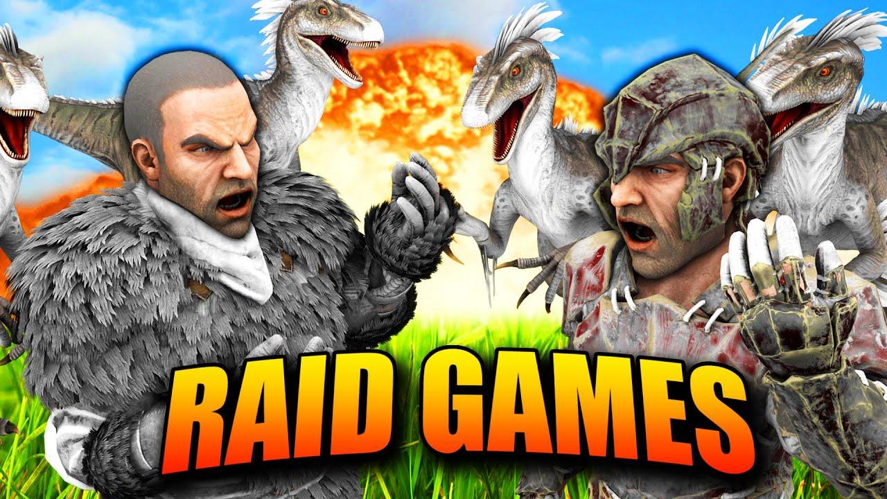 ARK - ¿QUIEN SERA EL GANADOR?  🔥💥 #4 - RAID GAMES 3 - Nexxuz