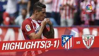 Resumen de Atlético de Madrid vs Athletic Club (3-1)