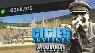 The Five Year Plan Fails! - Industries DLC: Cities Skylines