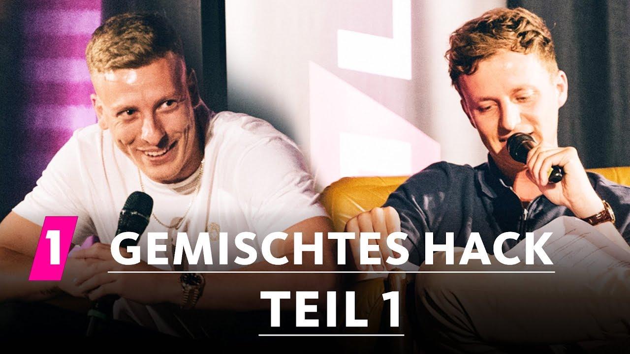 Teil 1: Gemischtes Hack LIVE mit Felix Lobrecht und Tommi Schmitt | 1LIVE 3 Tage wach!