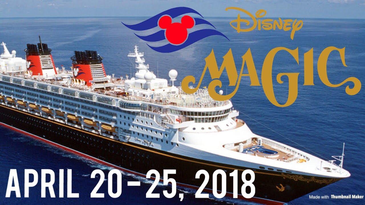 Disney Magic Cruise April 2018