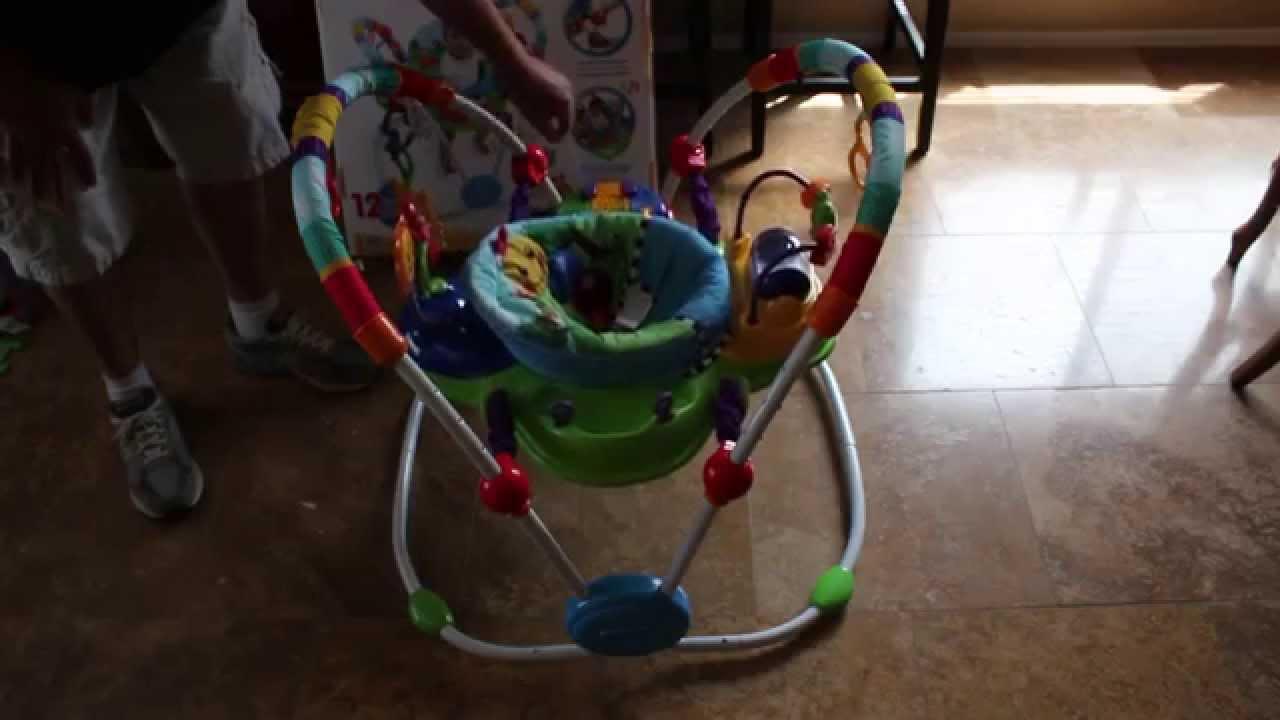 788be066f Baby Einstein Neighborhood Friends Activity Jumper - YouTube