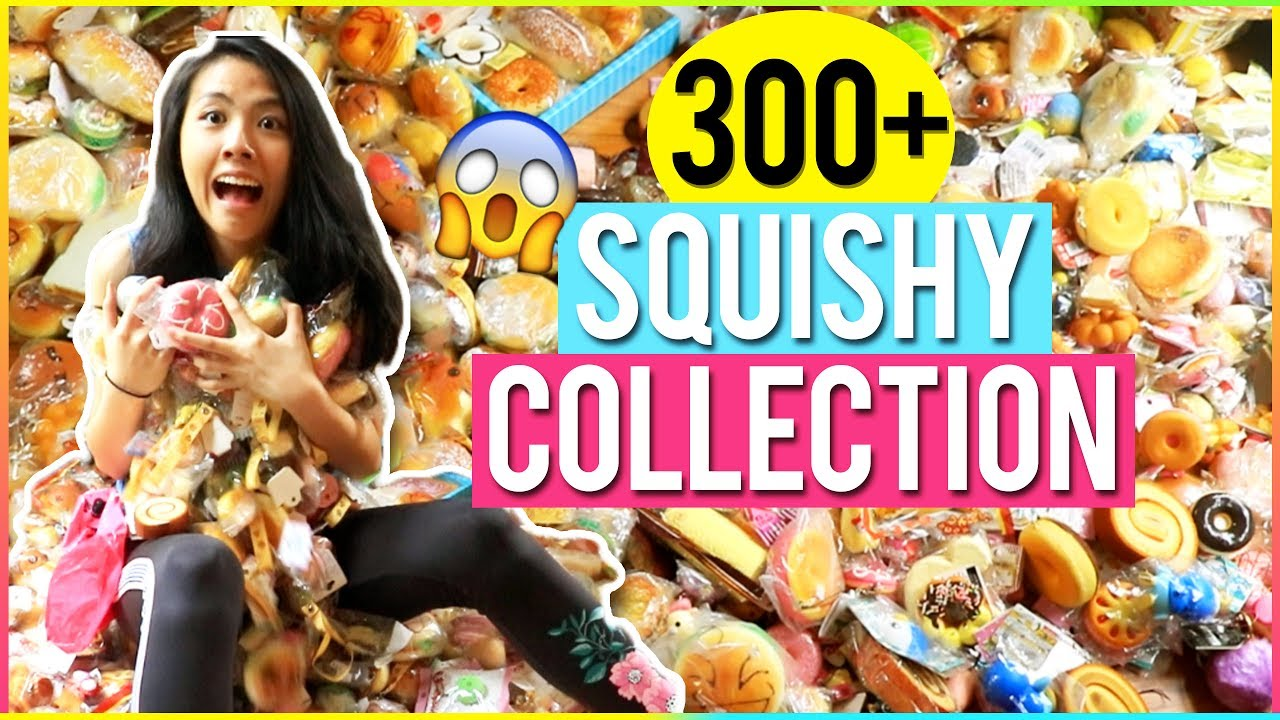 Squishy World : THE BIGGEST SQUISHY COLLECTION 2017! OVER 300+ SQUISHIES! Katie Tracy ? - YouTube
