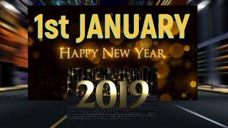 HAPPY NEW YEAR 2019 DJ SONG GREETING CARD STATUS DRAWING SLOGAN SHAYARI RESOLUTION MOTIVATIONAL VID