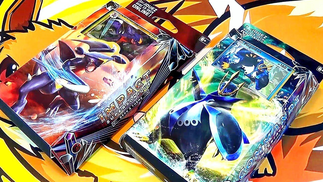Ouverture des decks pok mon sl5 ultra prisme carchacrok pingoleon youtube - Pokemon pingoleon ...